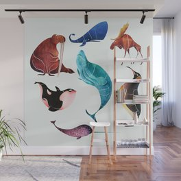 Arctic animals Wall Mural