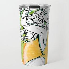 Afrolatina lemonade Travel Mug