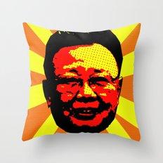 Farewell Kim Jong Il Throw Pillow