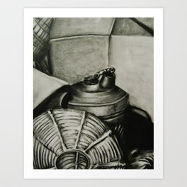Volumetric--Still Life Print Art Print