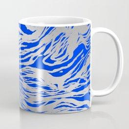 Marbled Blue Coffee Mug