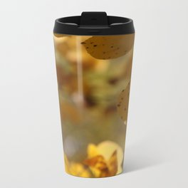 Aspen Leaves Metal Travel Mug