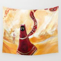 journey Wall Tapestries featuring Journey by Kathleen Joyce