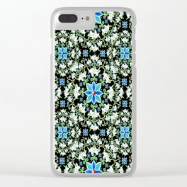 Beaux Arts Folkloric Lily Clear iPhone Case