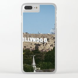 Cliche Hollywood Photo Clear iPhone Case