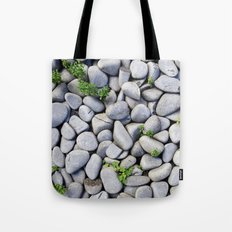 Sea Stones - Gray Rocks, Texture, Pattern Tote Bag