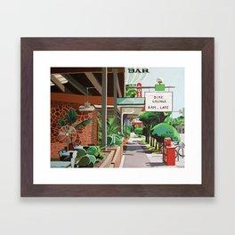 Cactus Cafe Framed Art Print