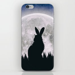 The Hare's Moon iPhone Skin