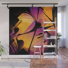 B--Abstract Wall Mural