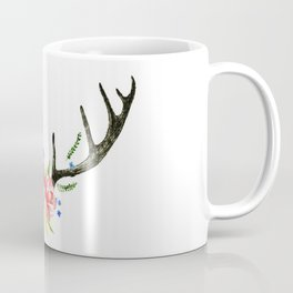 Flore Antler Coffee Mug