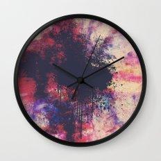 New Age Retro Wall Clock