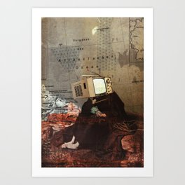 Thoughts of Future Costs Art Print