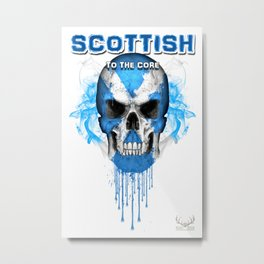 To The Core Collection: Scotland Metal Print