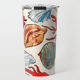 Sea Life Watercolor Travel Mug