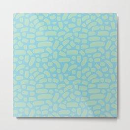 Brush strokes pattern #15 Metal Print
