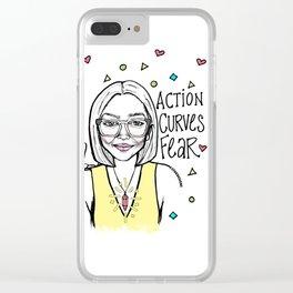 #STUKGIRL TIONA Clear iPhone Case