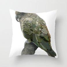 Kea Pattern Throw Pillow