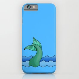 Mermaid Tail iPhone Case
