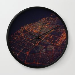 desert lights Wall Clock