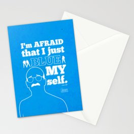 "Arrested Development Tobias Funke ""You're my boy BLUE"" Stationery Cards"