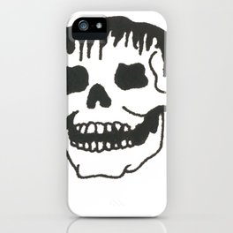 Dropping skull iPhone Case