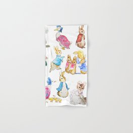 Tales of Peter Rabbit  characters Beatrix Potter Hand & Bath Towel