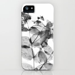 Ghostly Blooms iPhone Case
