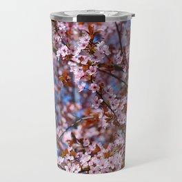 """""""Pink spring"""". Flowers. Travel Mug"""