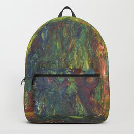 "Claude Monet ""Weeping Willow"" Backpack"