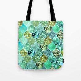 Mermaid Skin Shimmer Tote Bag