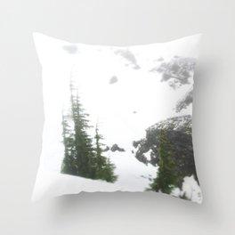 Buffs of Snow Throw Pillow