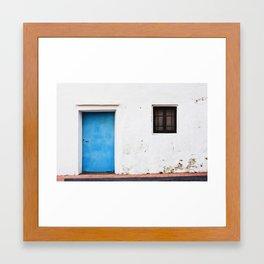la cuesta Framed Art Print