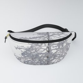 Yellowstone National Park - Ice Covered Tree Fanny Pack