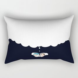 The Dreaming -- Viewpoints, images, memories, puns, and lost hopes. Rectangular Pillow