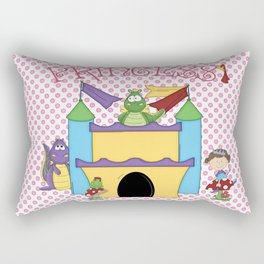 Make Believe Rectangular Pillow