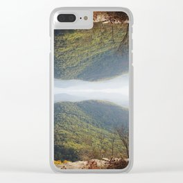 *°~ A ● Tale ¤f Two ○ Earth//s ~°* Clear iPhone Case