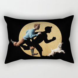 tin tin advanture Rectangular Pillow