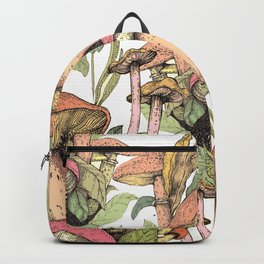 mushrooms in the wild Backpack