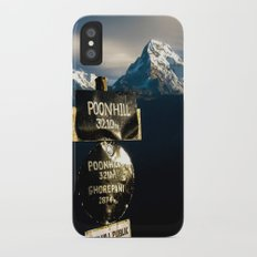 The view from Poonhill iPhone X Slim Case