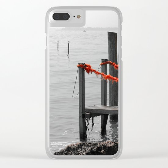 Private Port Clear iPhone Case