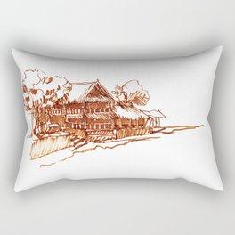 Gili Air Dive Shack Rectangular Pillow