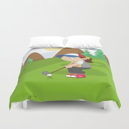 Non Olympic Sports: Golf Duvet Cover