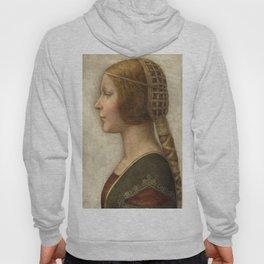 "Leonardo da Vinci ""Bella principessa"" Hoody"