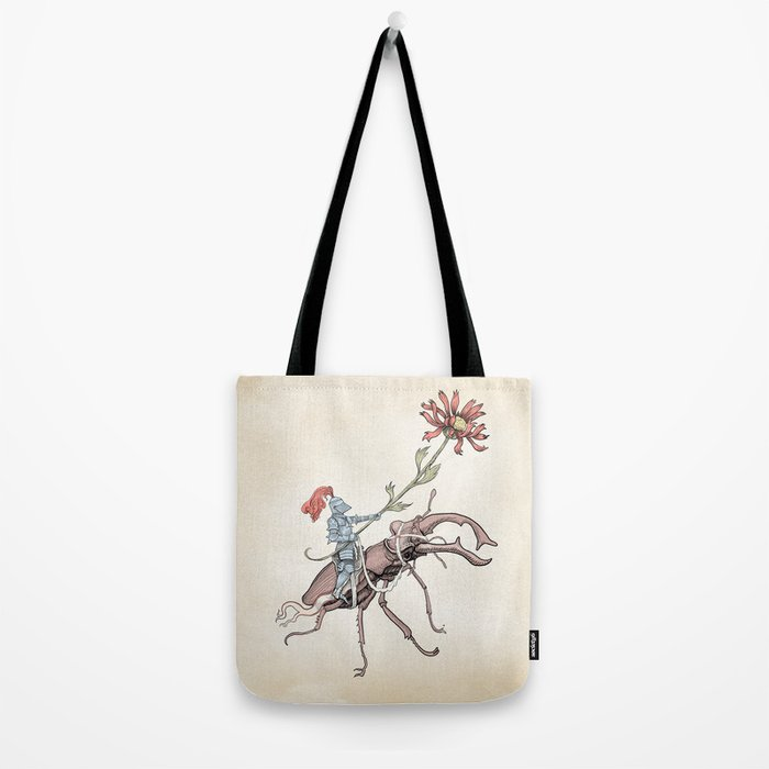 Gentle knight Tote Bag