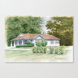Buford Home Canvas Print