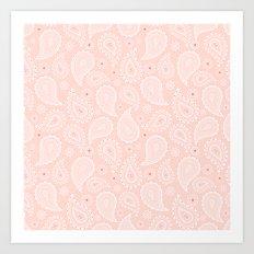 Paisley Pattern Art Print