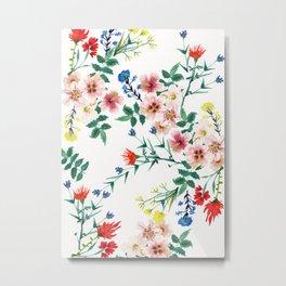 Flowers Beauty Metal Print