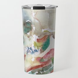 SKULL AND MUSHROOMS Travel Mug