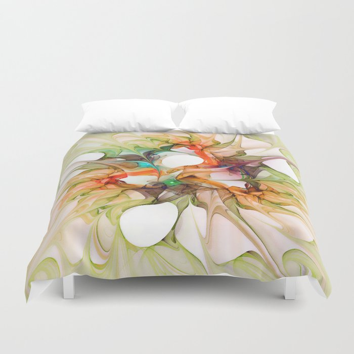 Dancing in the Wind 2 Duvet Cover