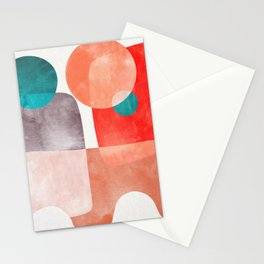 Bridge #abstract #painting Stationery Cards